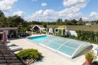 Annonce vente Maison avec piscine marlieux