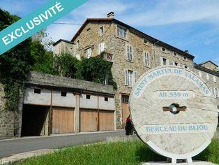 Annonce vente Maison saint-martin-de-valamas