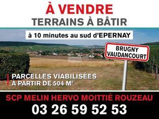 Annonce vente Terrain brugny-vaudancourt