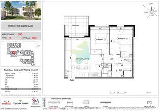 Annonce vente Appartement avec terrasse villeneuve-de-la-raho