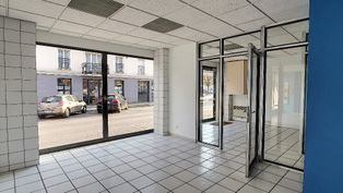 Annonce location Local commercial avec stationnement chauny