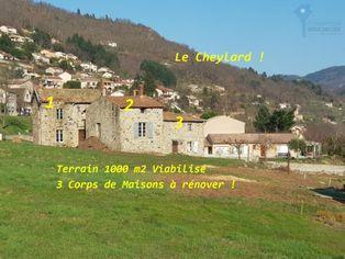 Annonce vente Maison en pierre le cheylard