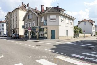 Annonce vente Local commercial avec parking pontarlier