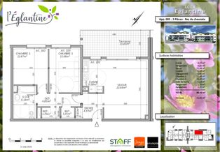Annonce vente Appartement avec terrasse marly