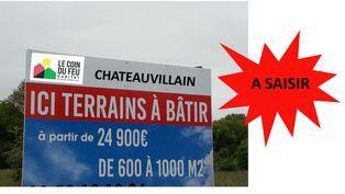 Annonce vente Terrain châteauvillain