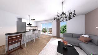 Annonce vente Appartement avec terrasse villeneuve-d'ascq