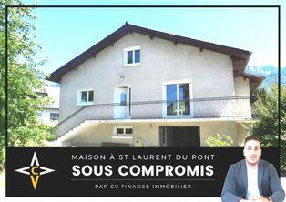 Annonce vente Maison avec garage saint-laurent-du-pont