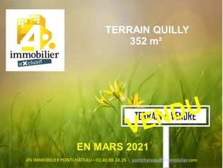 Annonce vente Terrain quilly