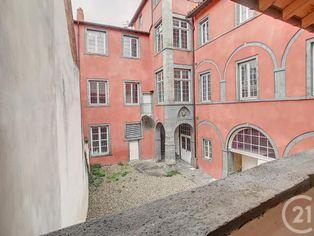 Annonce vente Appartement avec terrasse riom