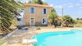 Annonce vente Maison avec piscine lezay