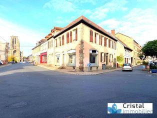 Annonce vente Local commercial avec cave phalsbourg