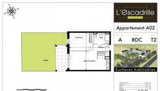 Annonce location Appartement avec jardin aressy