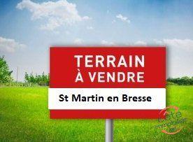 Annonce vente Terrain au calme saint-martin-en-bresse