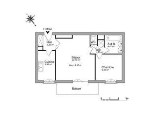 Annonce location Appartement au calme le plessis-trévise