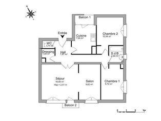 Annonce location Appartement avec parking le plessis-trévise