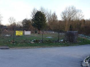 Annonce vente Terrain avec jardin agnicourt-et-séchelles