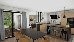 Annonce vente Maison avec cuisine ouverte la ville-ès-nonais