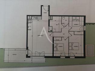 Annonce vente Appartement avec terrasse castelginest