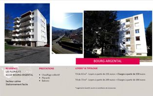 Annonce location Appartement bourg-argental
