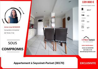 Annonce vente Appartement avec parking seyssinet-pariset
