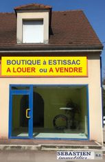Annonce vente Local commercial avec parking estissac