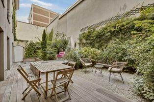 Annonce vente Appartement avec jardin paris 10eme arrondissement