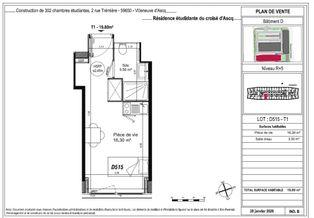 Annonce location Appartement villeneuve-d'ascq