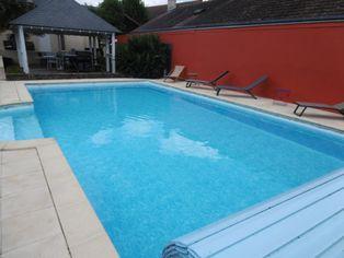 Annonce vente Maison avec piscine yvré-l'évêque