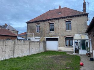 Annonce vente Maison avec garage bucquoy