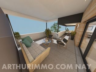 Annonce vente Appartement avec terrasse nay