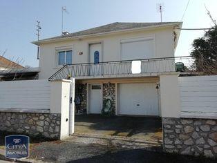 Annonce vente Maison avec garage le blanc