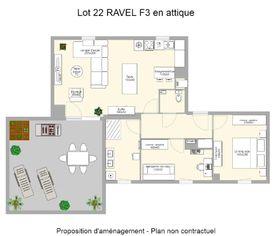 Annonce vente Appartement avec terrasse ingersheim
