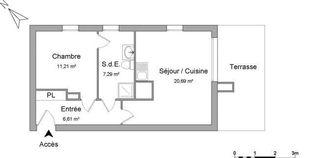Annonce location Appartement avec garage colombelles