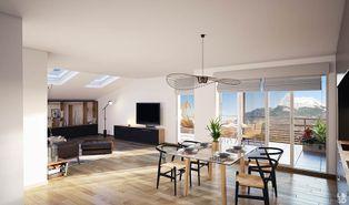 Annonce vente Appartement avec vue dégagée domancy