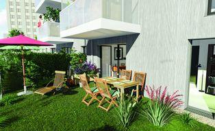 Annonce vente Appartement avec jardin saint-herblain