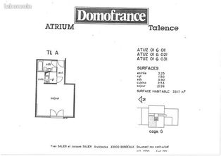 Annonce location Appartement talence