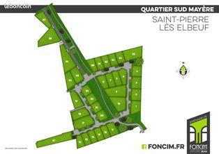 Annonce vente Terrain saint-pierre-lès-elbeuf