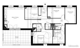 Annonce vente Appartement avec terrasse acigné