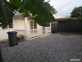 Annonce location Maison avec jardin cayenne