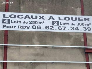 Annonce location Local commercial avec parking bischwiller