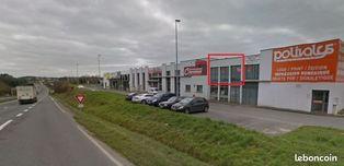 Annonce location Local commercial avec parking guingamp